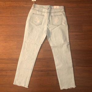 American Bazi Jeans - Distressed high rise denim jeans